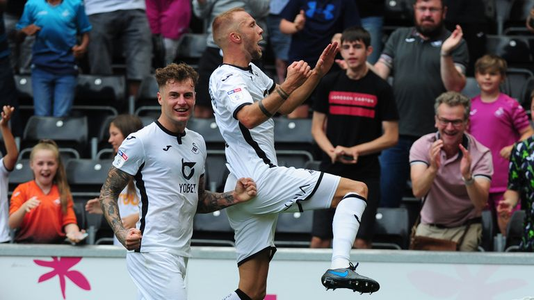 Swansea came from behind to beat Hull