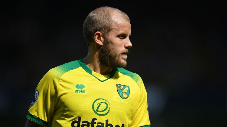Teemu Pukki is the Premier League's joint top goalscorer