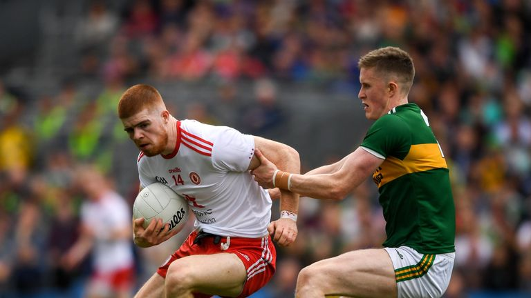 Cathal McShane continued his impressive form, scoring 0-7