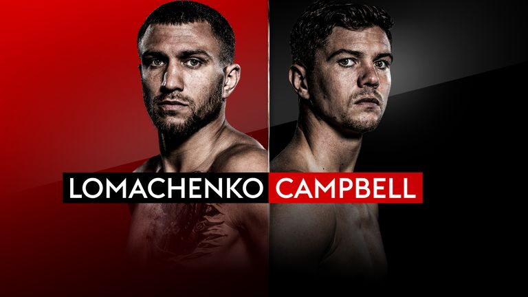 Watch Lomachenko vs Campbell online, even if you aren't a Sky subscriber