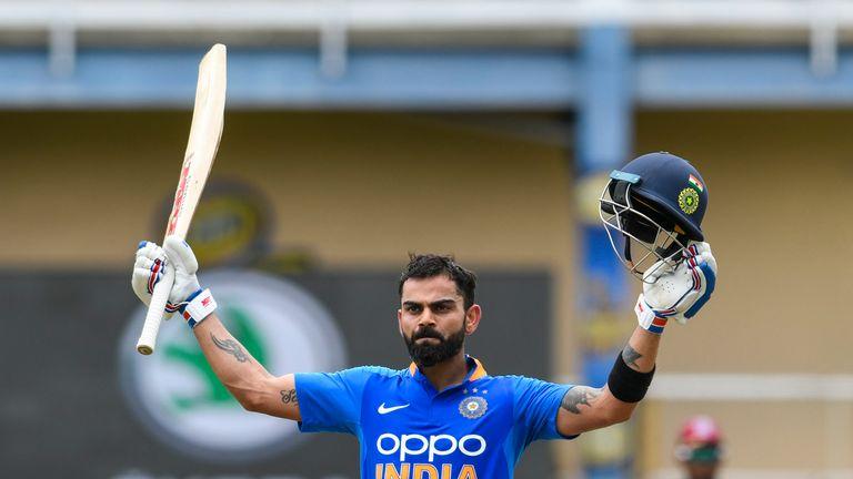 Virat Kohli ended a five-month-long wait for an ODI century