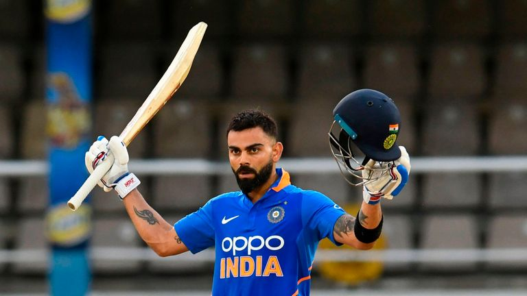 Virat Kohli became the first-ever player to score 20,000 runs in a decade