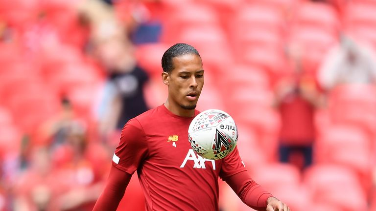 Van Dijk was the world's most expensive defender until Maguire joined United