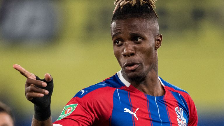 Wilfried Zaha is the most fouled player in the Premier League