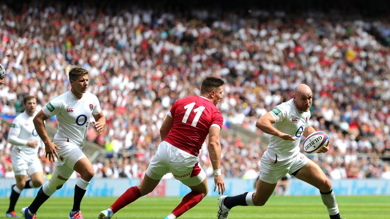Heinz showed his quality during England's fine win over Wales at Twickenham