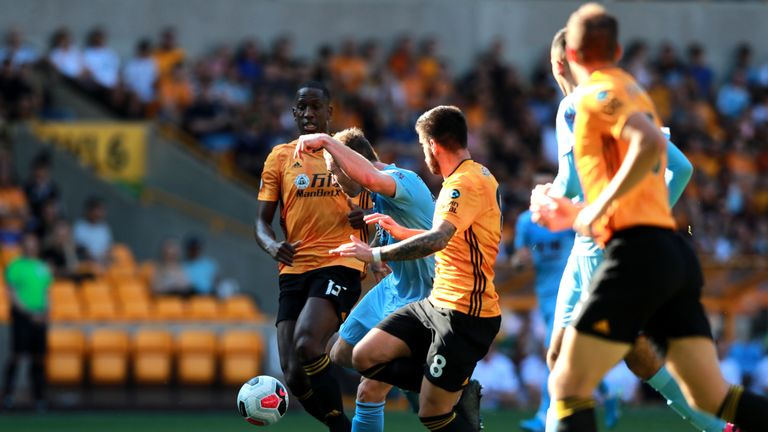 Ashley Barnes netted his fourth against Wolves at Molineux