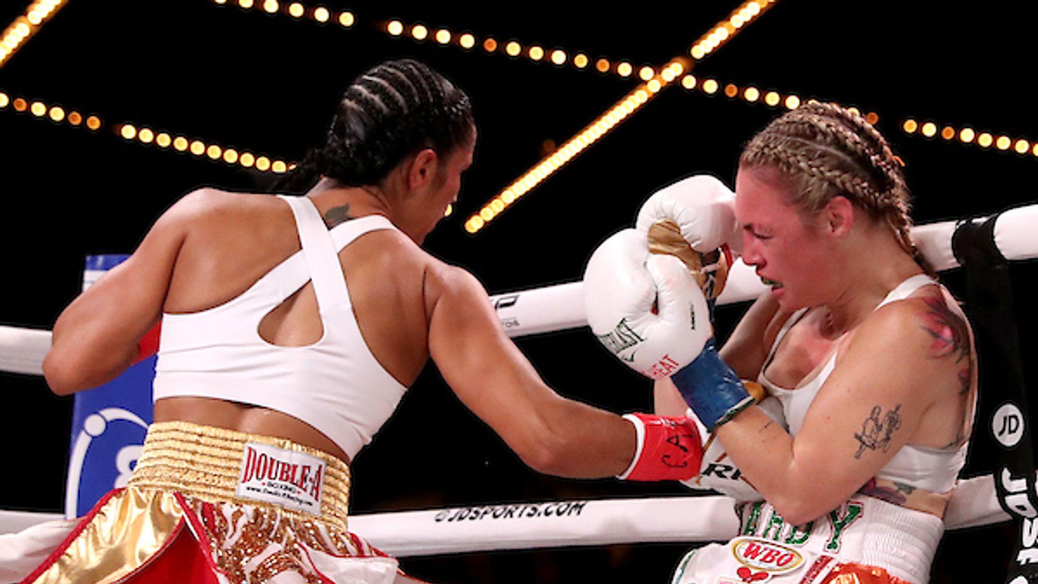 Haney vs Abdullaev: Amanda Serrano out-battles a tough Heather Hardy in Manhattan