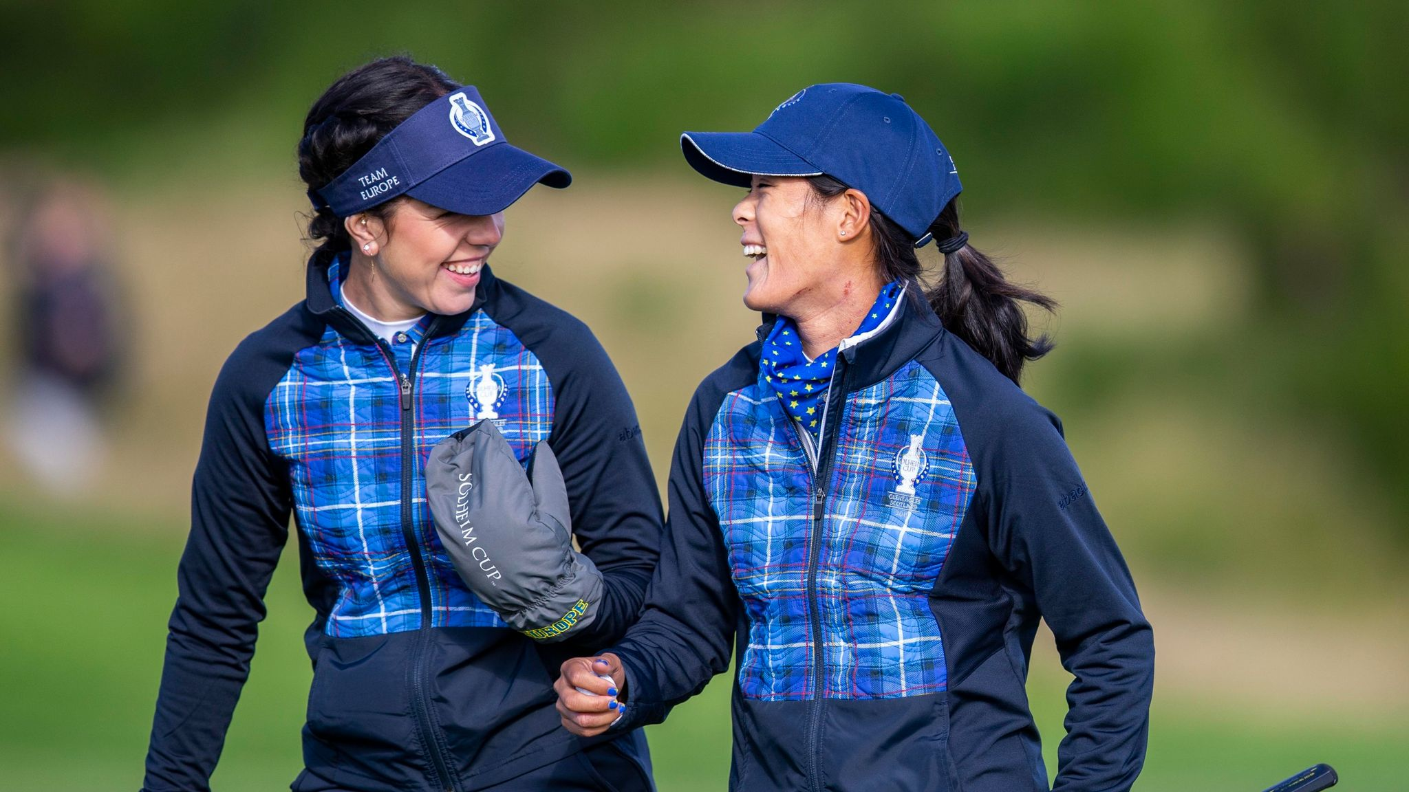 Solheim Cup: Europe one point ahead after USA stage late rally at Gleneagles