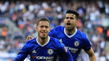 fifa live scores - Eden Hazard looking forward to Diego Costa battle in Madrid derby