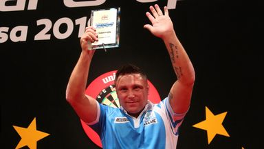 Gerwyn Price claimed his third title of the year