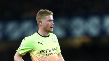 fifa live scores - Kevin De Bruyne does not care about Liverpool's strong home record against Man City