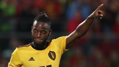 Michy Batshuayi's double helped Belgium to a routine victory