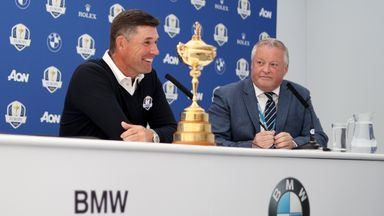 Padraig Harrington wants all possible Ryder Cup players at Wentworth