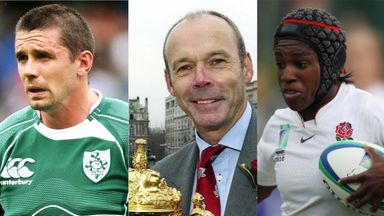 Alan Quinlan, Sir Clive Woodward and Maggie Alphonsi give their views ahead of the World Cup