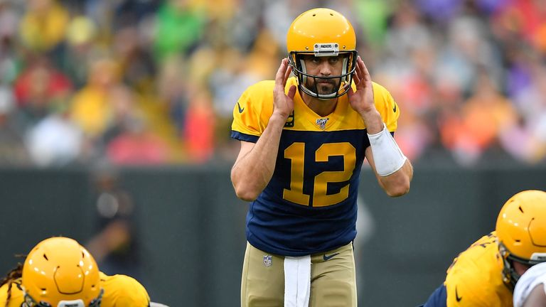 Aaron Rodgers isn't having a big statistical season, but his team is 3-0