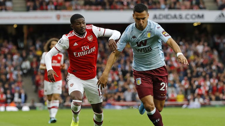 Ainsley Maitland-Niles (L) is one of several youngsters given a chance by Emery