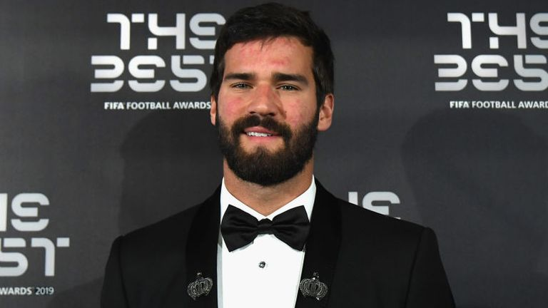 Alisson has been picked by both FIFA and UEFA as goalkeeper of the year