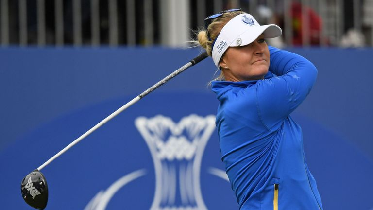 Anna Nordqvist was always in control in the anchor match
