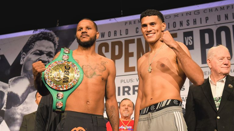 Anthony Dirrell and David Benavidez made weight for WBC title clash
