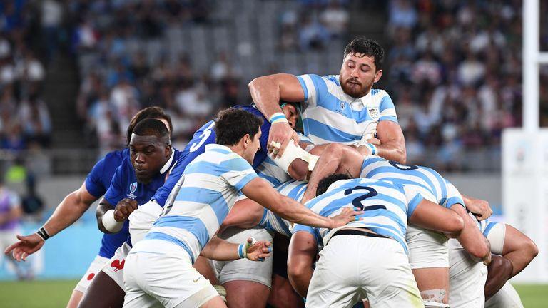 Argentina reverted to utilising some familiar tactics against France