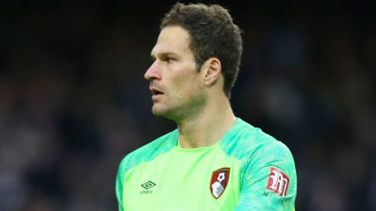 Asmir Begovic's current contract at Bournemouth expires in the summer of 2021