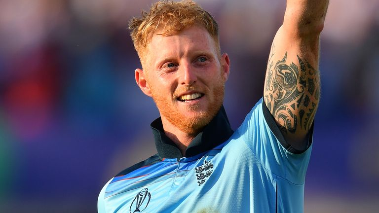 The Durham all-rounder helped England win the World Cup earlier this summer