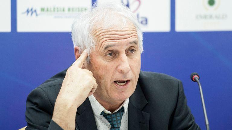 Kosovo manager Bernard Challandes