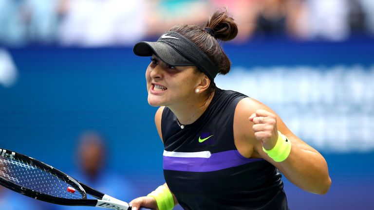 Andreescu held her nerve in the second set to win the US Open