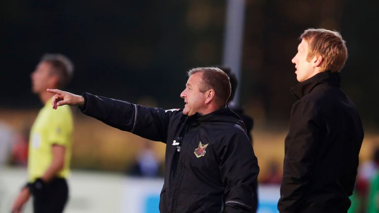 Reid first linked up with Graham Potter during their time with Ostersunds