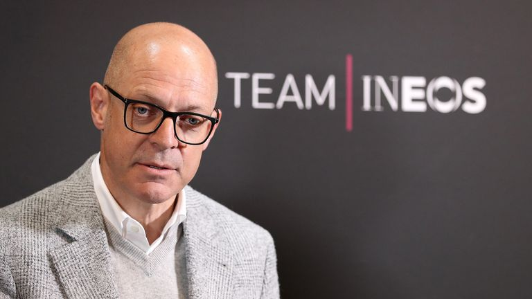 Sir Dave Brailsford was diagnosed with prostate cancer a week before this year's Tour de France