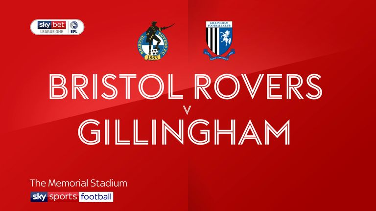 Bristol Rovers 1-1 Gillingham: Thomas O'Connor earns point for Gills