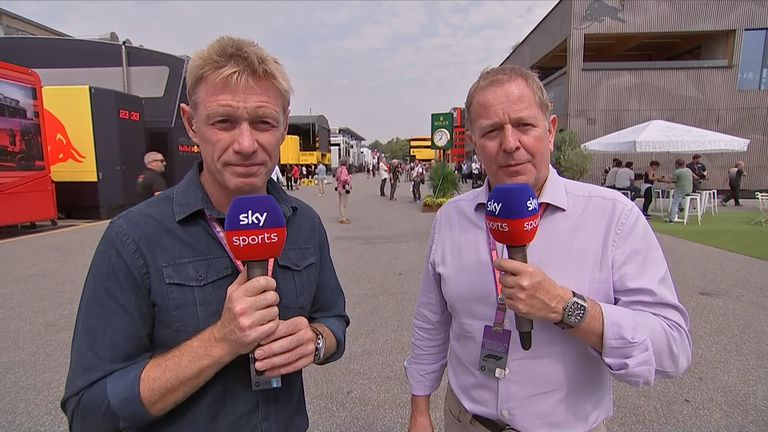 Simon Lazenby and Martin Brundle look ahead to this weekend's Italian GP from Monza