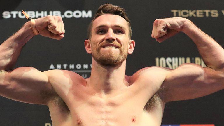 Callum Smith might set his sights on WBO light-heavyweight belt