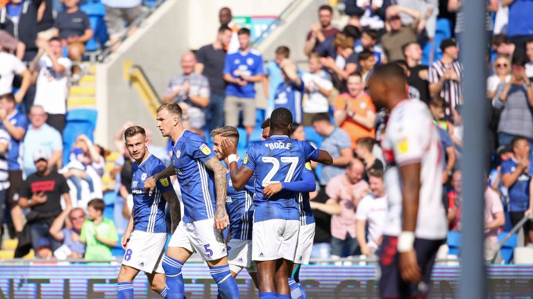 Cardiff 1-0 Middlesbrough: Ashley Fletcher own goal costs Boro