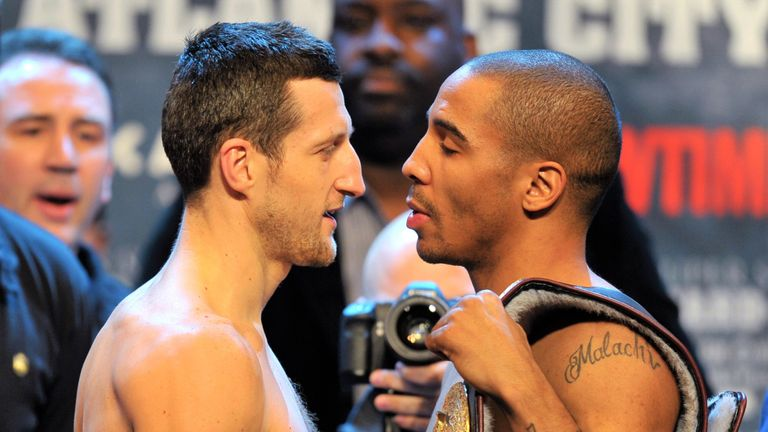 Carl Froch has given a scathing assessment of former opponent Andre Ward