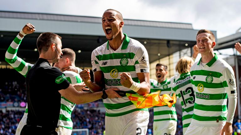 Celtic beat Rangers at Ibrox in the first Old Firm derby of the season