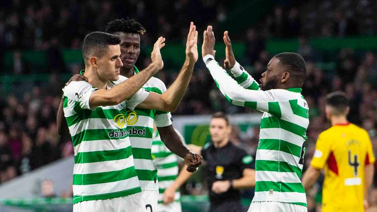 Tom Rogic was also on the scoresheet at Celtic Park