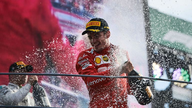 Vettel's Ferrari fastest at Italian GP ahead of qualifying