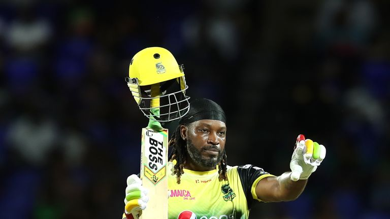 Gayle has scored more T20 runs and hundreds than anybody else