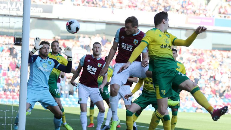 Wood rises highest to head Burnley in front