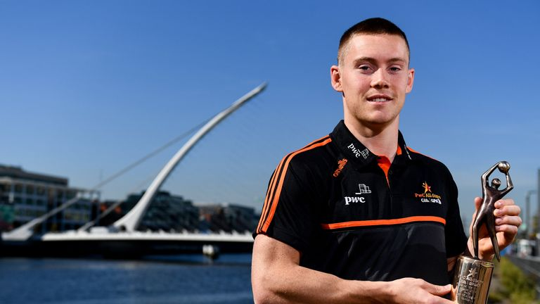 Con O'Callaghan was named the PwC GAA/GPA Player of the Month for August