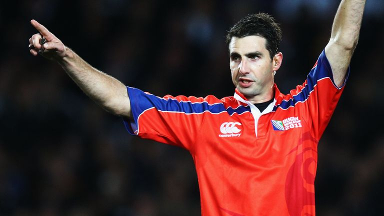 Referee Craig Joubert's 2011 World Cup final performance was hugely controversial, as New Zealand beat France on home soil