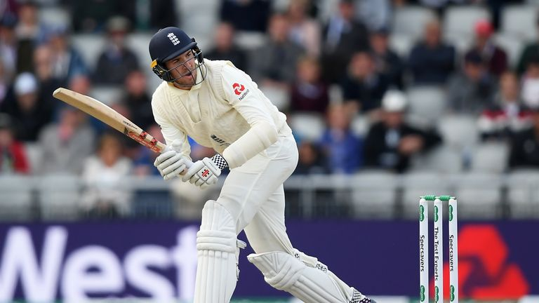 Craig Overton was a surprise selection for the fourth Ashes Test at Old Trafford