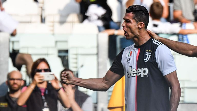 Cristiano Ronaldo was on the scoresheet in Juventus' win