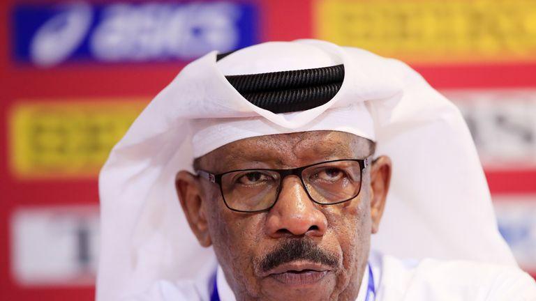 Qatar will 'comply withall international rules', says their athletics federation president Dahlan Al Hamad