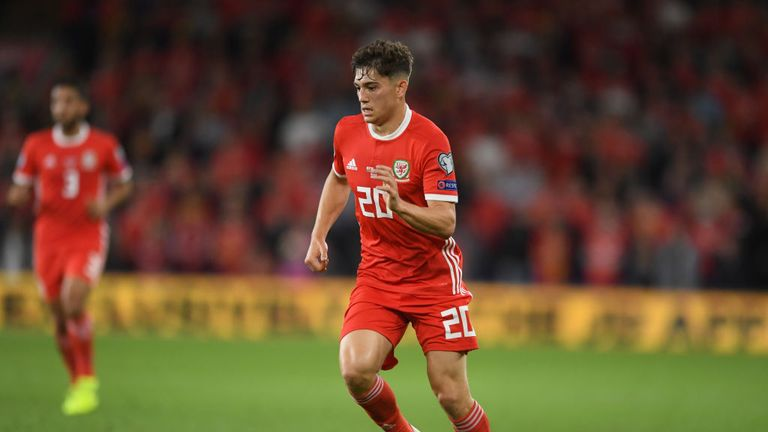 James has been included in the Wales squad to face Slovakia and Croatia