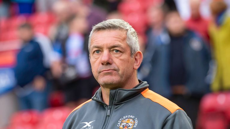 Daryl Powell and Castleford reached the play-offs in 2019