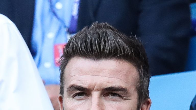 David Beckham will look to bring in his former Real Madrid teammate