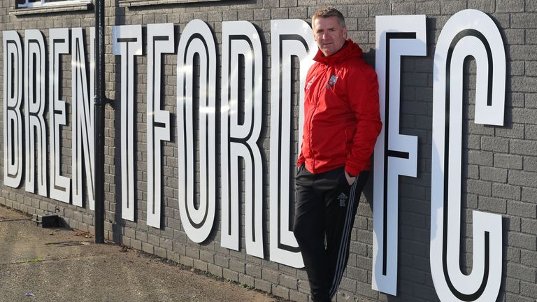 Smith's time at Brentford saw him exposed to many new ideas