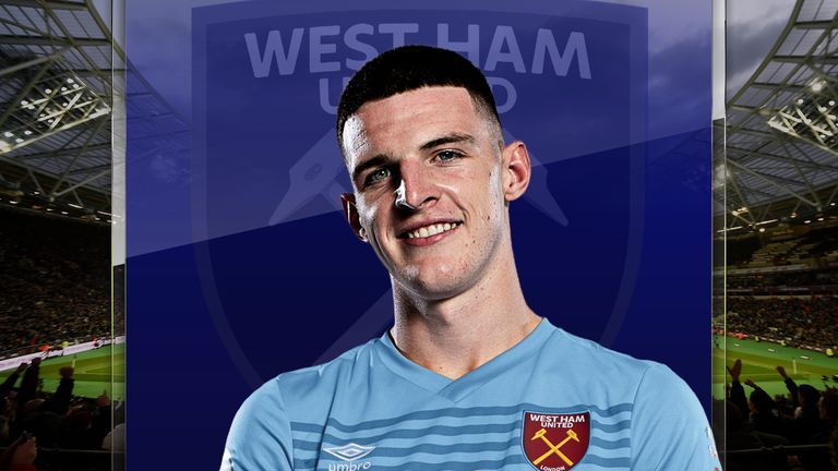 West Ham's Declan Rice has made an encouraging start to the season